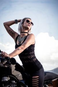 Portraitfotografie Motorrad
