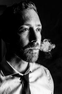 Portraitfotografie Raucher
